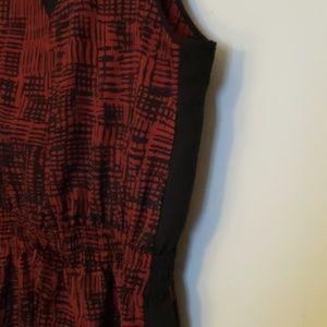 Lucky Brand Dresses - Lucky Brand Red/Black Dress XL